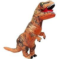 OZ STOCK T-Rex Blow Inflatable Dinosaur Costume Adult Jurassic World Park Trex