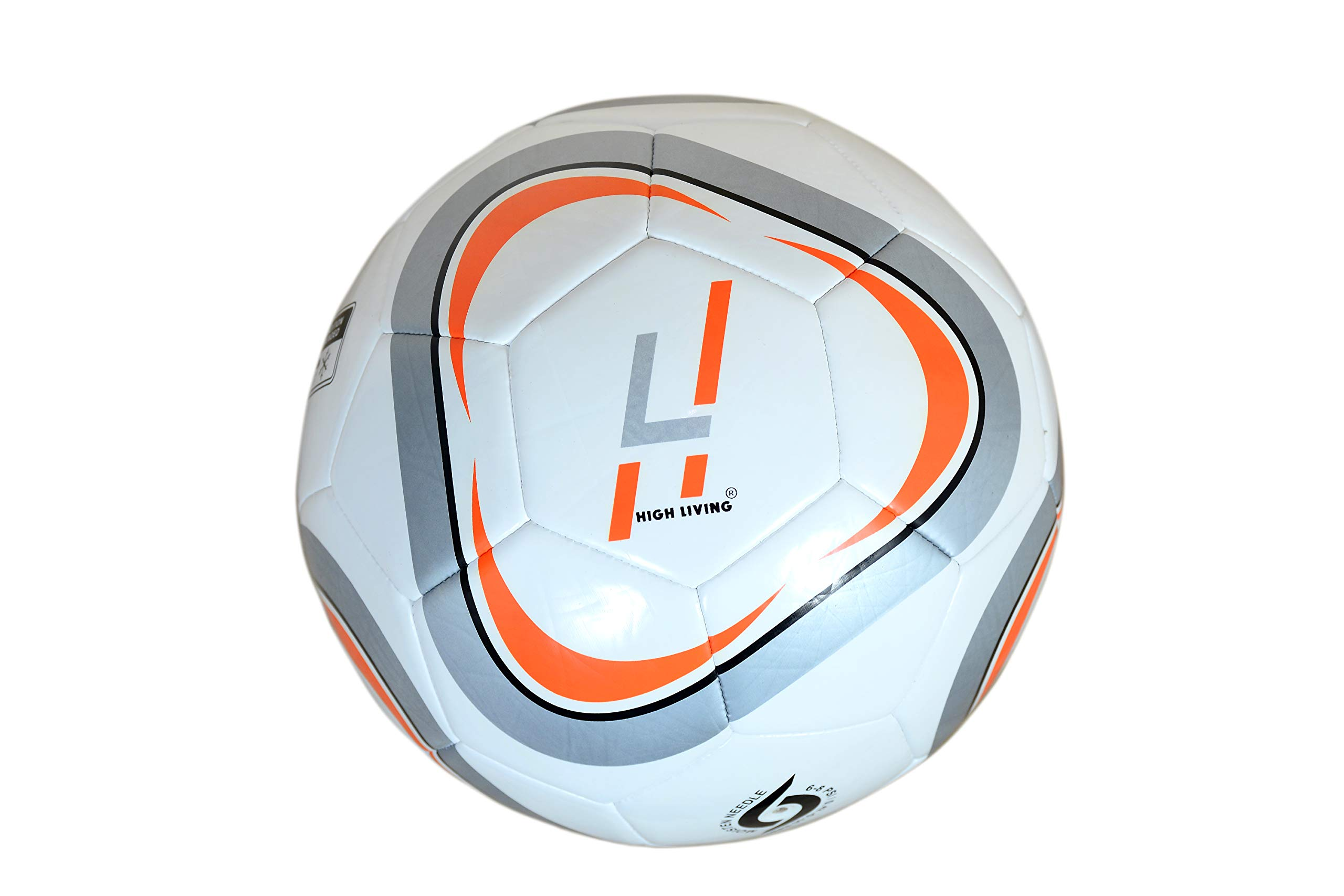 Highliving Football Size 5 Training Professional Club Team Indoor & Outdoor Match Soccer Ball