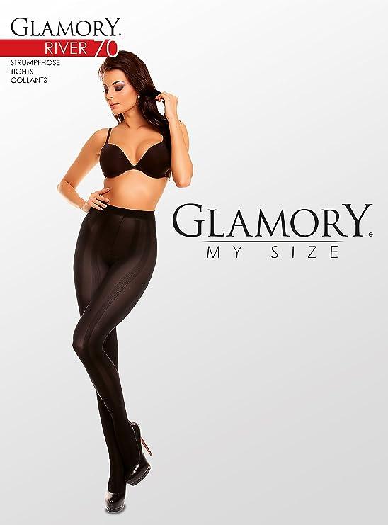 "56-58 Glamory /""Dune 70/"" Feinstrumpfhose /""Schwarz/"" Blickdicht Gr.52-54"