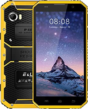 Rugged Smartphone Móvil Libre E&L W9 IP68 Impermeable Antipolvo ...