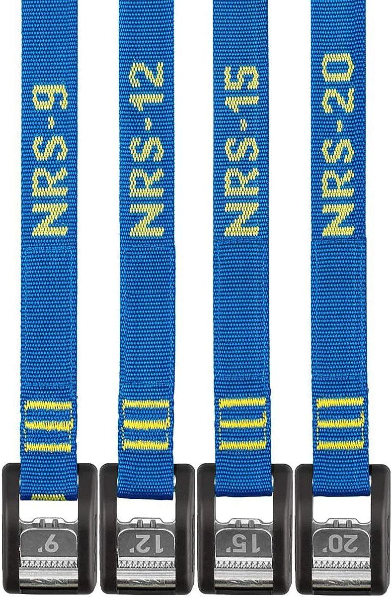 NRS 1 Heavy-Duty Buckle Bumper Straps Pair