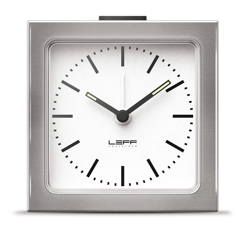 Leff Amsterdam LT90001 - Reloj Despertador, Color Plateado ...