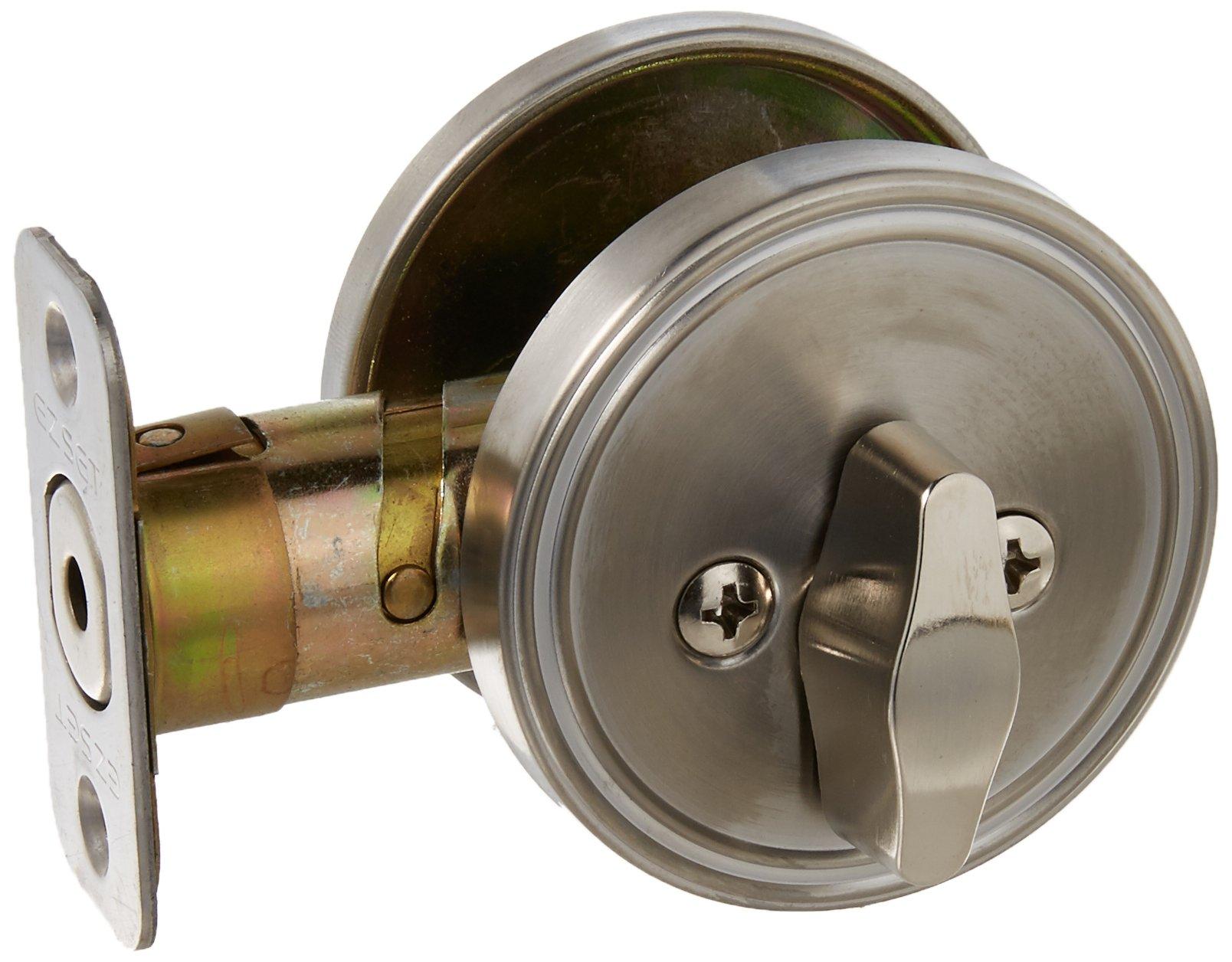 EZ-Set 231012 Double Cylinder Deadbolt by EZ-Set, Stainless Steel