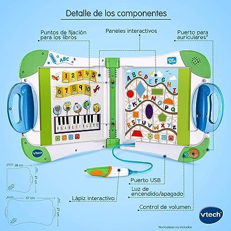 VTech - Magibook Juego Interactivo para Niños, Multicolor (80-602122)