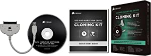 Corsair 2.5-Inch Solid State Drive and Hard Disk Drive Cloning Kit CSSD-UPGRADEKIT