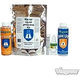 Viagrow pH Test Control Kit Liquid Nutrient Adjusting Solution