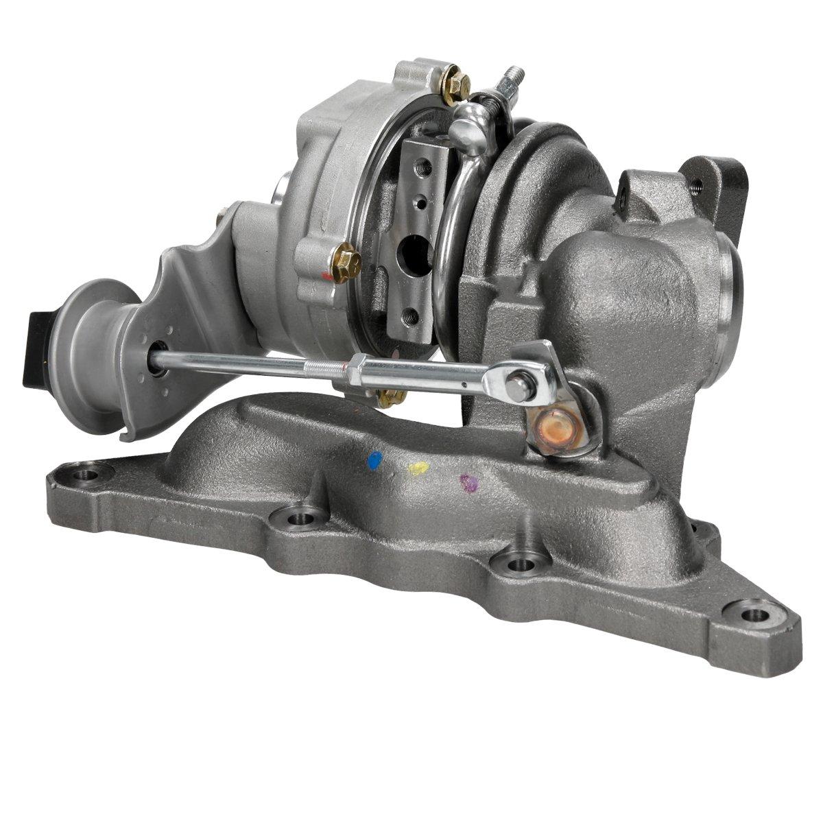 ECD Germany TL30-8245 Turbolader Abgas-Turbo-Lader Turbolader mit Kr/ümmer Abgaskr/ümmer