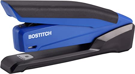 Blue 1122 Bostitch Office InPower Spring-Powered Desktop Stapler