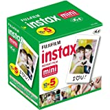 FujiFilm Instax Mini Instant Film, 50 Sheets