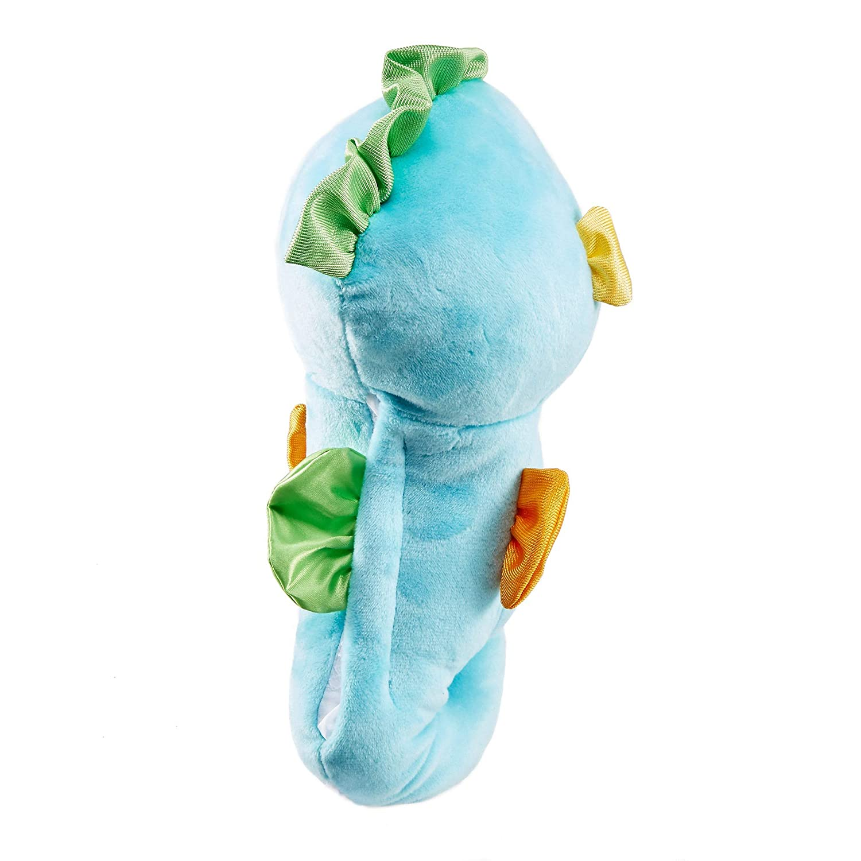 DGH82 jouet musical et lumineux bleu d/ès la naissance Fisher-Price Petit HippocLampe veilleuse b/éb/é en peluche