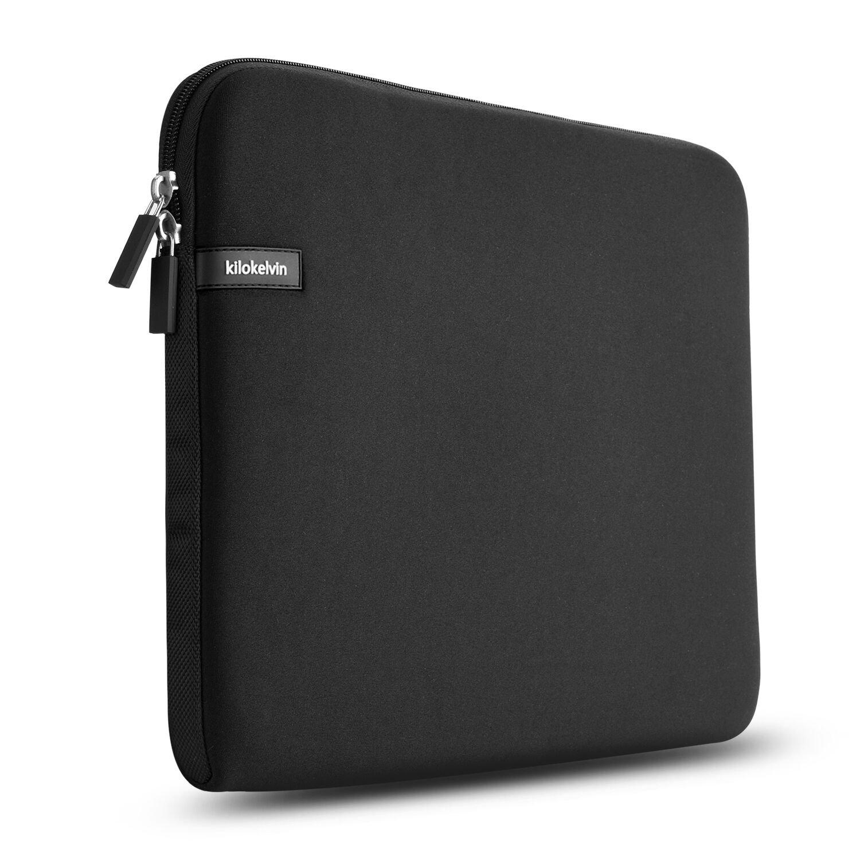 5f771ed34973 Kilokelvin 14.1 Inch Water Repellent Laptop Sleeve Case Notebook for  Asus/Dell/HP/Lenovo Black