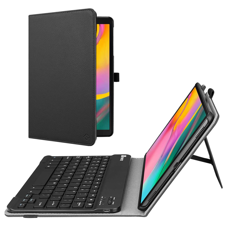 Funda De Cuero Con Teclado Samsung Galaxy Tab A 10.1 Sm-t510 2019