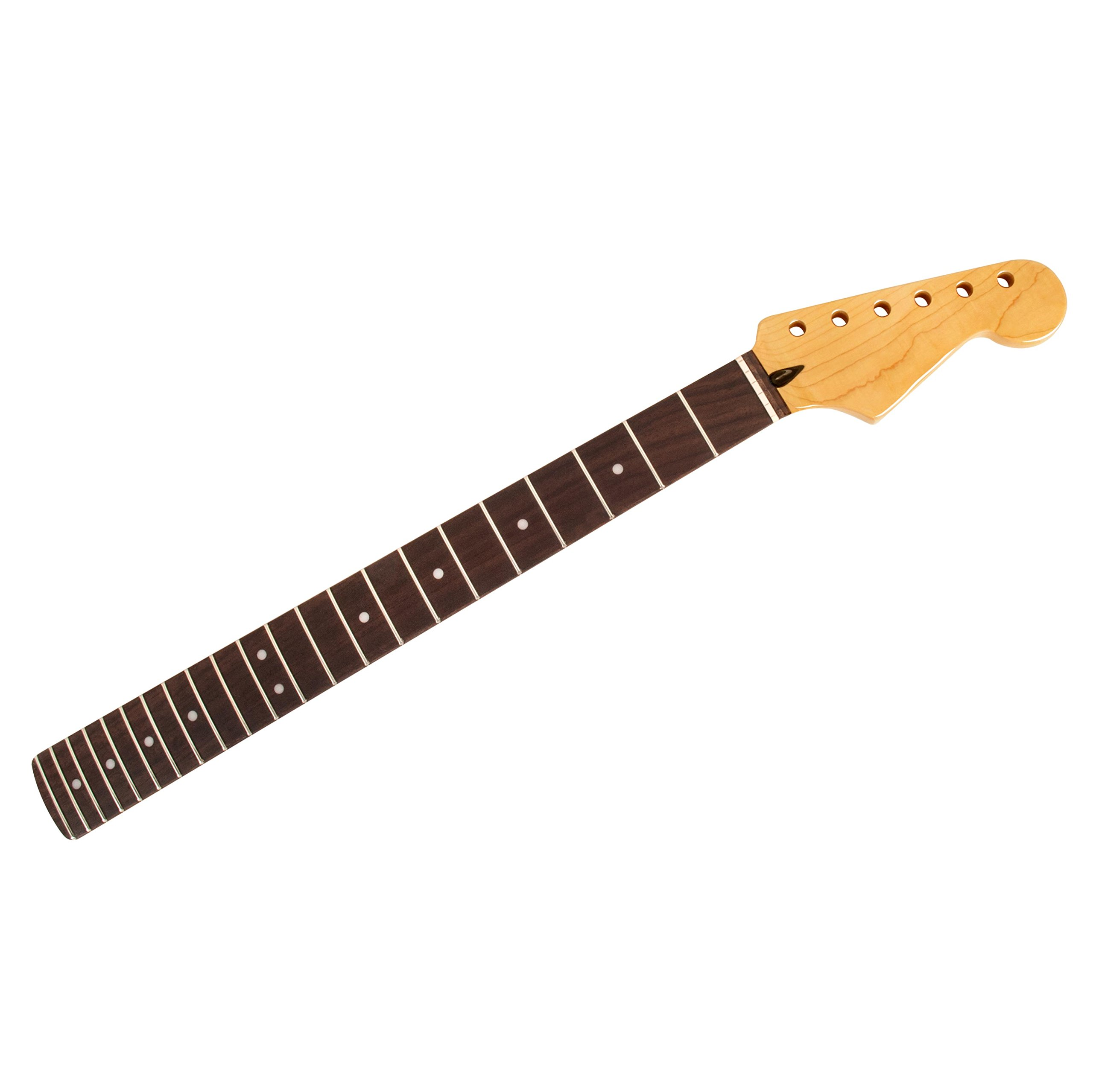 Mighty Mite Vintage Amber Neck for Strat, Rosewood Fingerboard