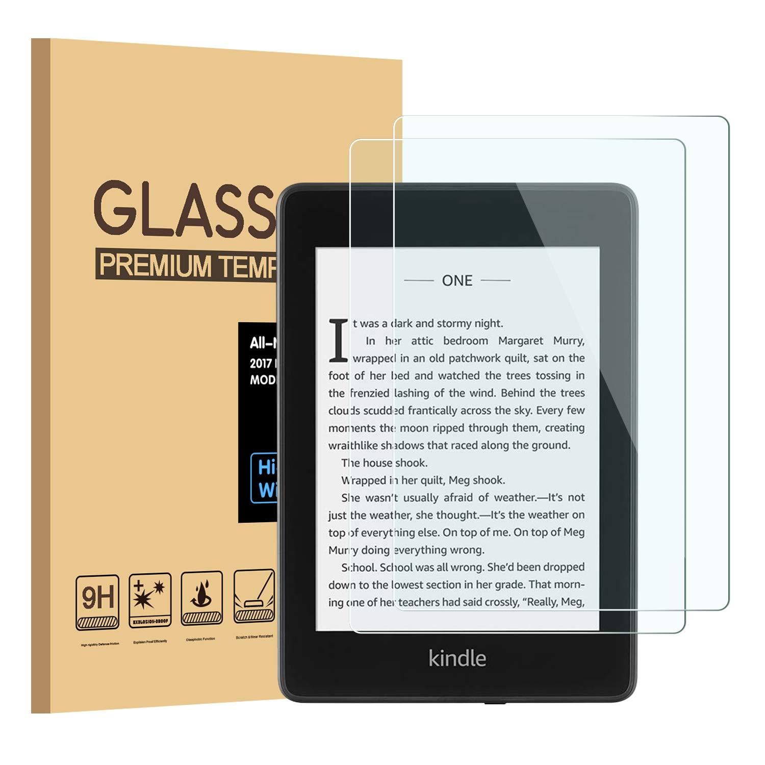 PULEN Screen Protector for All-New Kindle Paperwhite 2018 10th ...