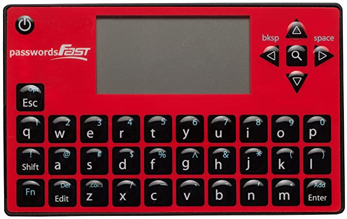 passwordsFAST Stand Alone Electronic Password Keeper