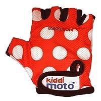 Kiddimoto Dotty Small Gloves (Red)