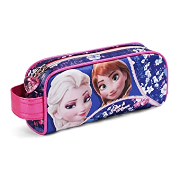 Karactermania Frozen Zipper Estuches, 20 cm, Rosa: Amazon.es ...