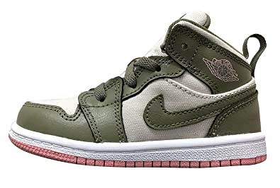 666e88853e2d Jordan Retro 1 Mid Trooper Bleached Coral (Toddler) (5 M US Toddler
