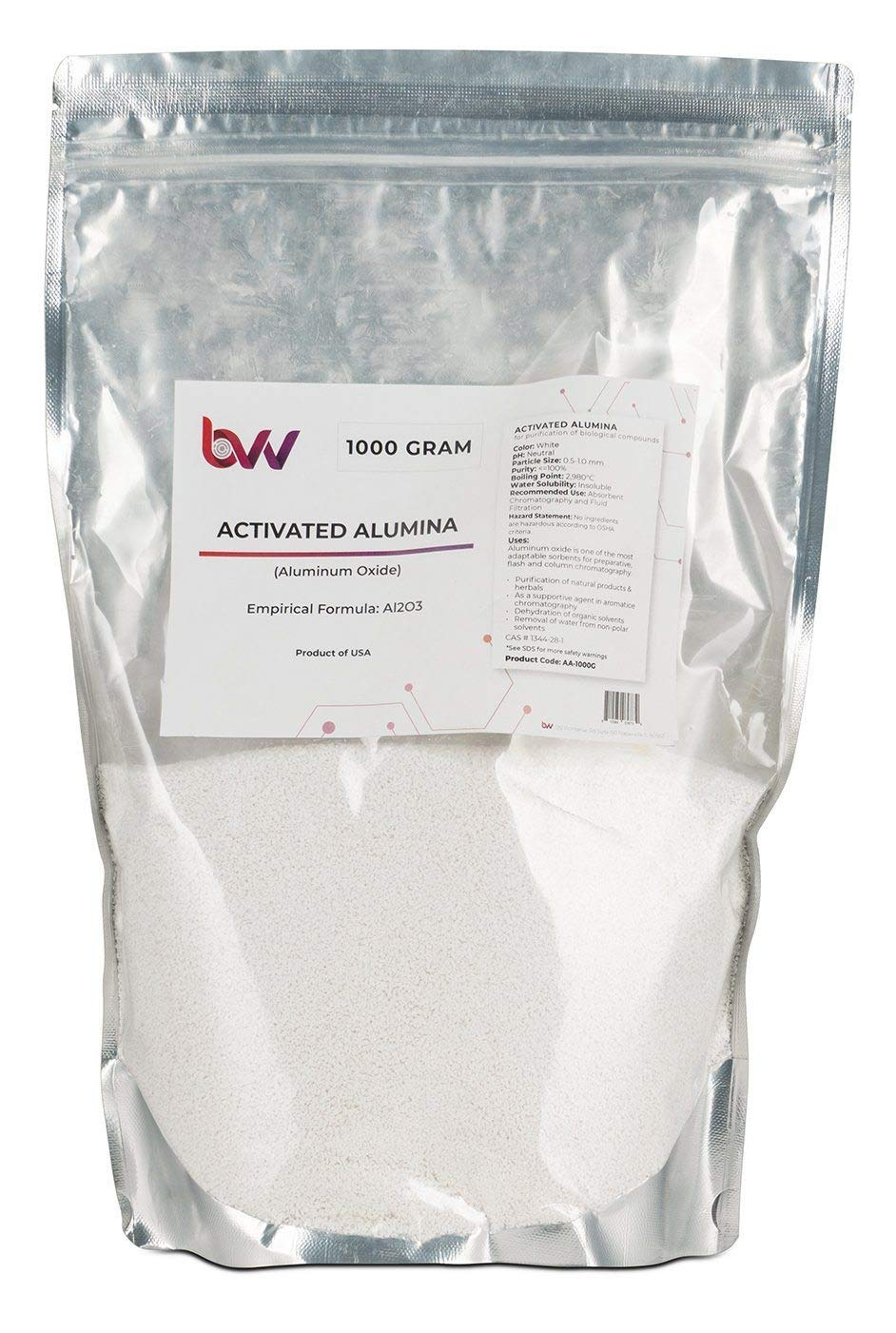 BVV Activated Alumina- 1000 Gram Bag by BEST VALUE VACS