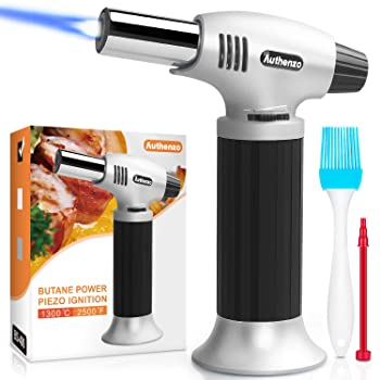 Authenzo Butane Kitchen Torch