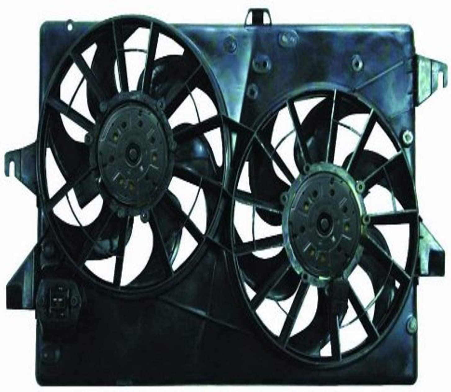DEPO 330-55008-000 Replacement Engine Cooling Fan Assembly (This product is an aftermarket product. It is not created or sold by the OE car company)