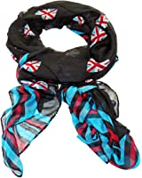 Long Scarf Union Jack hearts