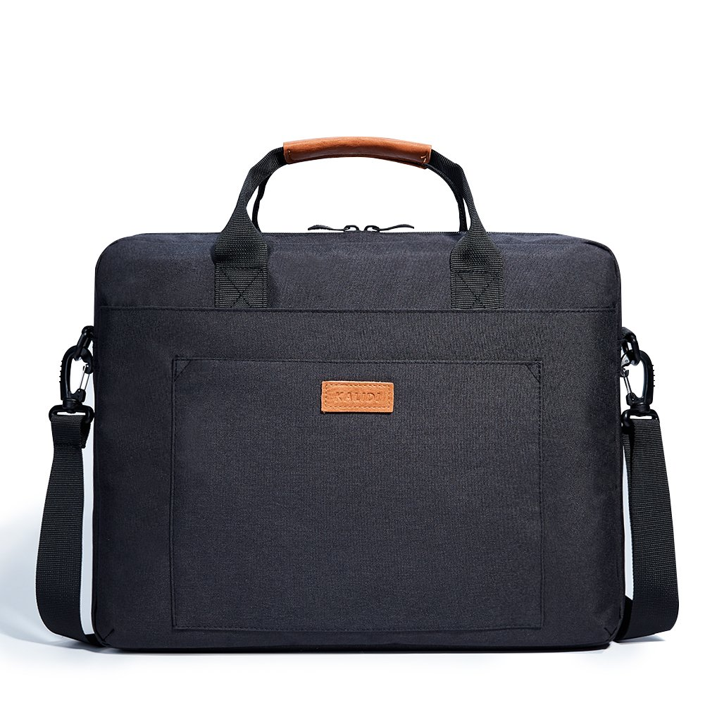 KALIDI 17.3 Inch Notebook Briefcase Messenger Bag for Dell Alienware//MacBook//Lenovo//HP Business Laptop Bag College and Office Gray BH003L Travelling