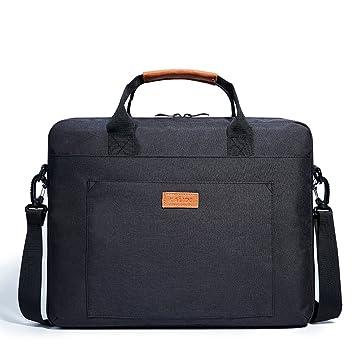 Kalidi Maletín para portátil, Laptop Funda para 17.3 Pulgadas Ordenador Portátil, Negro: Amazon.es: Electrónica
