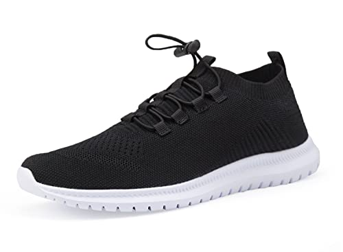 9d64a5538eee4 Men and Women Sneakers Lightweight Athletic Casual Walking Shoes Mesh Slip  on Shoes