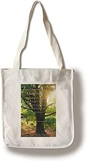 product image for Lantern Press Jeremiah 29:11 - Inspirational (100% Cotton Tote Bag - Reusable)