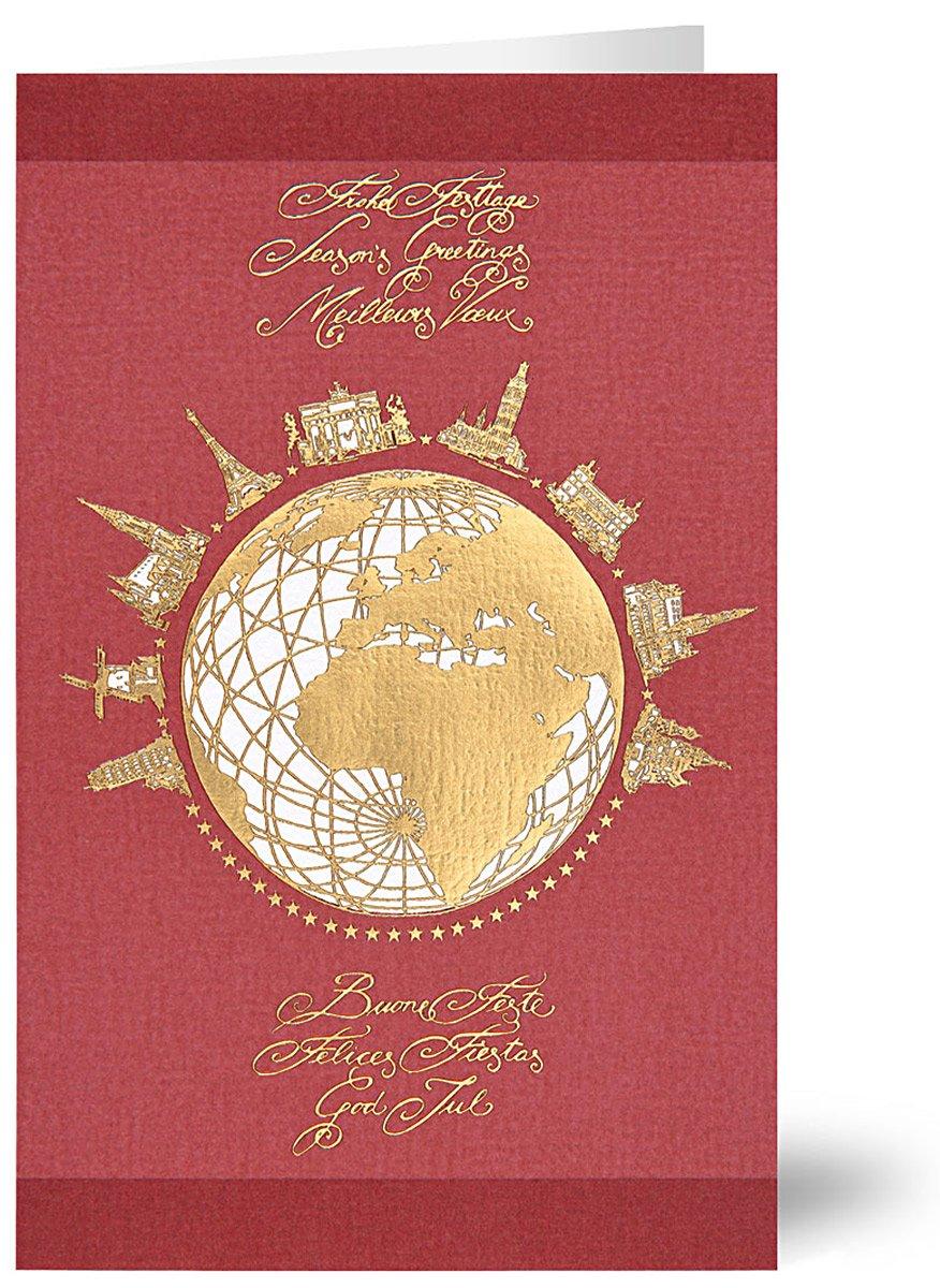 20 Weihnachtskarten Grußkarten International 260 g//m² Mayspies 7666