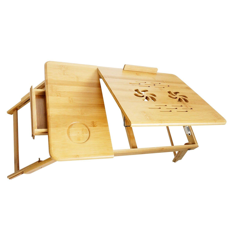 Tavolino da PC per letto,Tavolo Notebook Pieghevole Portabile ...