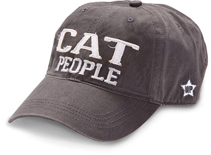 c0a41e9628b1a Amazon.com  We People Cat People Baseball Cap Hat with Adjustable ...