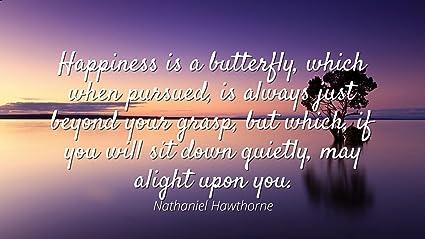 Amazoncom Nathaniel Hawthorne Famous Quotes Laminated Poster