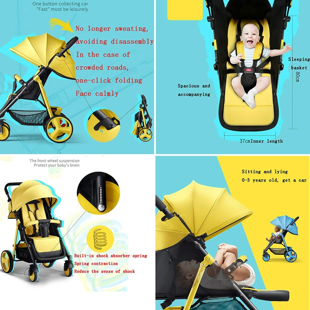 Amazon.com: Lightweight Stroller with 5-Point Safety System ...