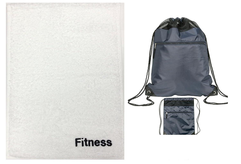 be5f27141084 Gym Towel and Gym Bag Set  Amazon.co.uk  Sports   Outdoors