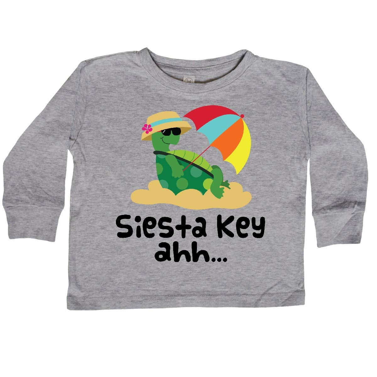 inktastic Siesta Key Florida Summer Vacation Toddler Long Sleeve T-Shirt