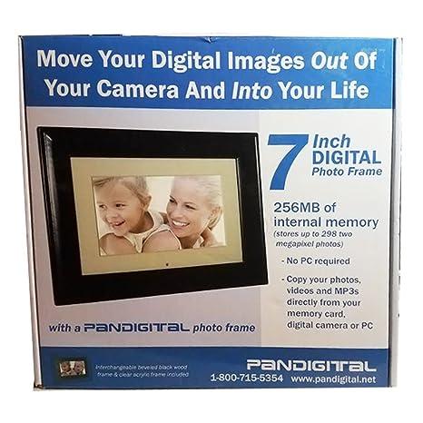 Amazoncom Pandigital 7 Inch Digital Frame Pan705 B Digital
