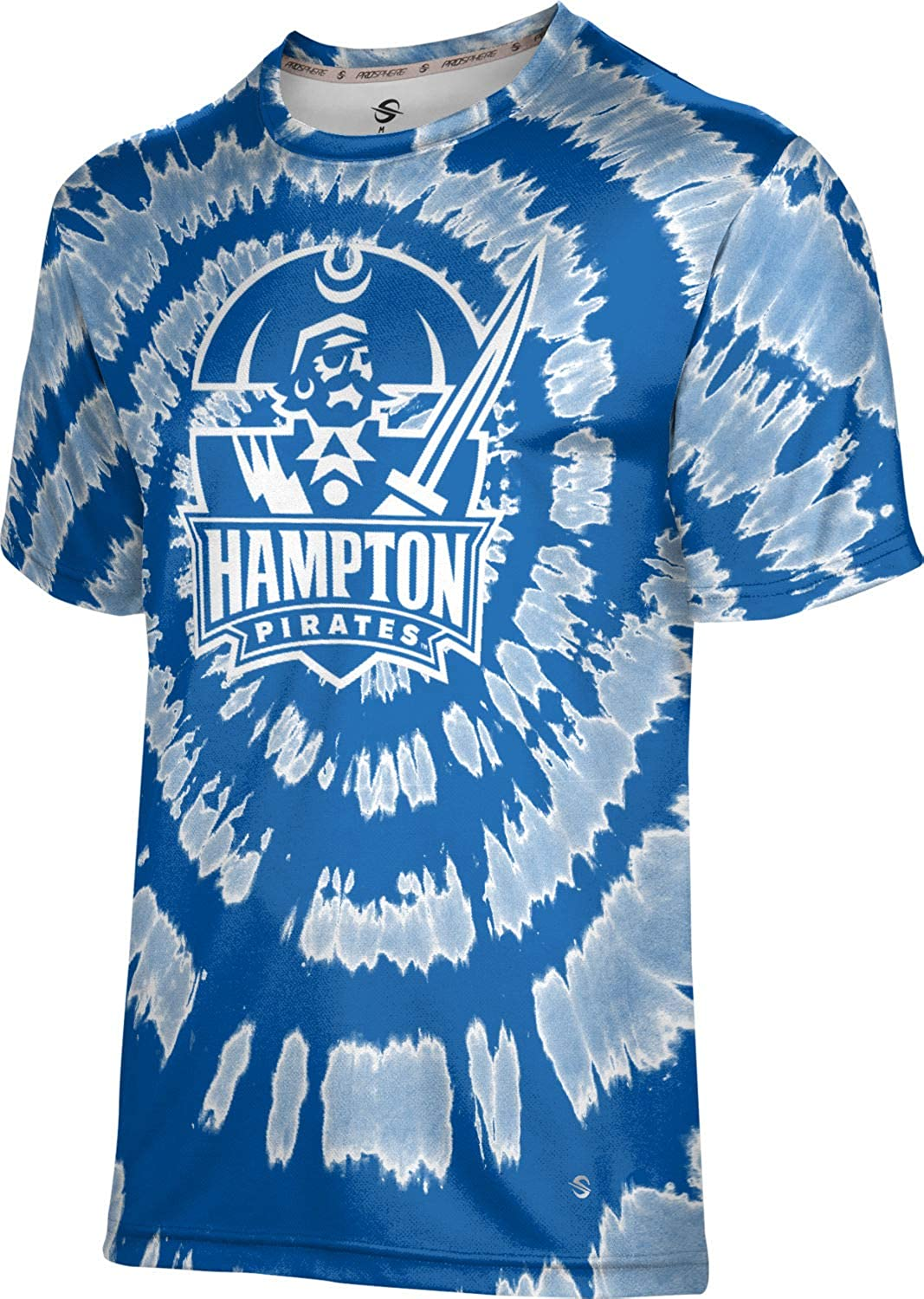 Tie Dye ProSphere Hampton University Mens Performance T-Shirt