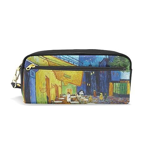 jstel Van Gogh Cafe Terrace escuela lápiz bolsa para bebés ...