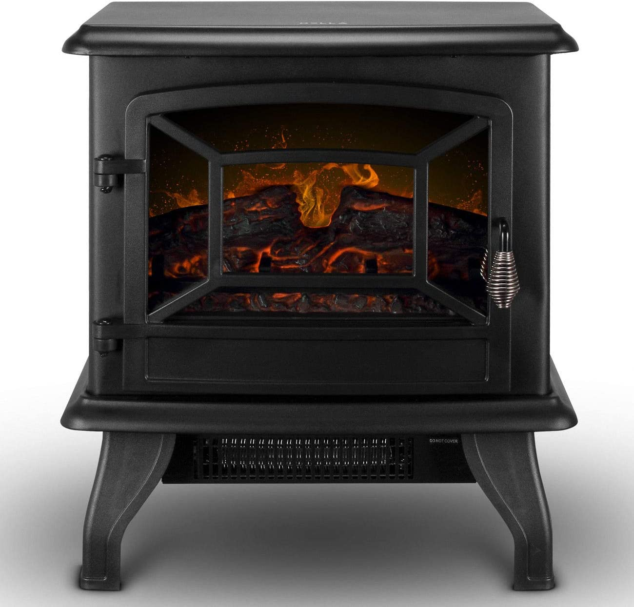 BEAMNOVA Electric Fireplace Heater for Indoor Use Corner Fireplace for Living Room