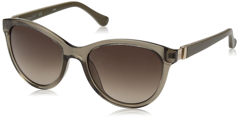 Amazon.com: Calvin Klein ck3189s de la mujer Cateye anteojos ...