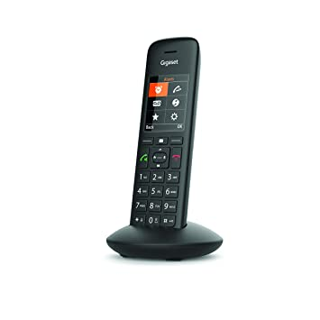 Téléphone Fixe sans Fil Gigaset C570HX Combiné Supplémentaire Noir ... c41c67ba10c5