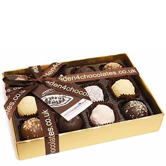 Trufas de chocolate de lujo 140g - Pralines y Trufas de Chocolate Chocolates de lujo y