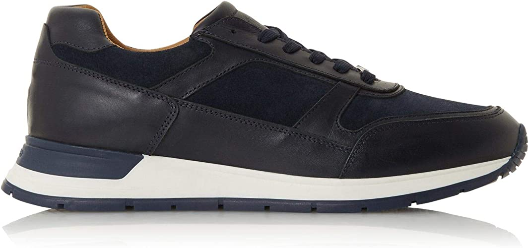 Dune Mens TRANSFORMM Lace Up Trainers