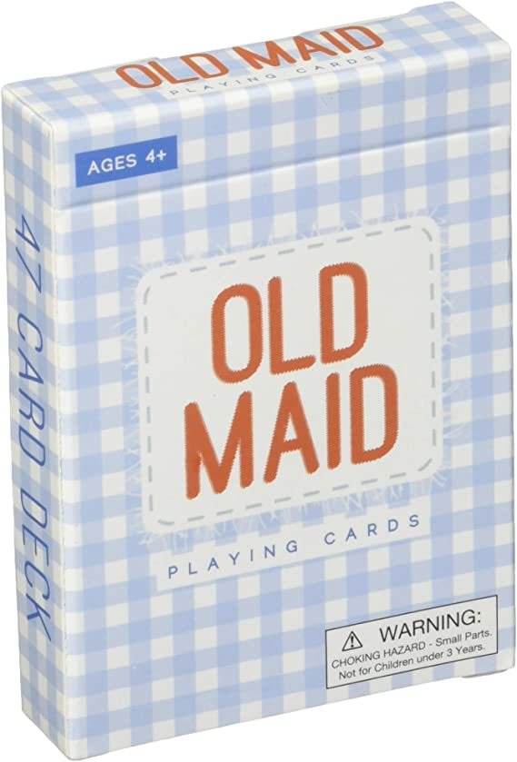 Imagination Generation Old Maid Playing Cards - Classic Vintage Card Deck Set for Kids - Cute Career Themed Memory Match - Activities for Classroom