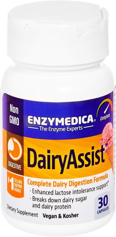 Enzymedica DairyAssist - 30 caps 33 gr