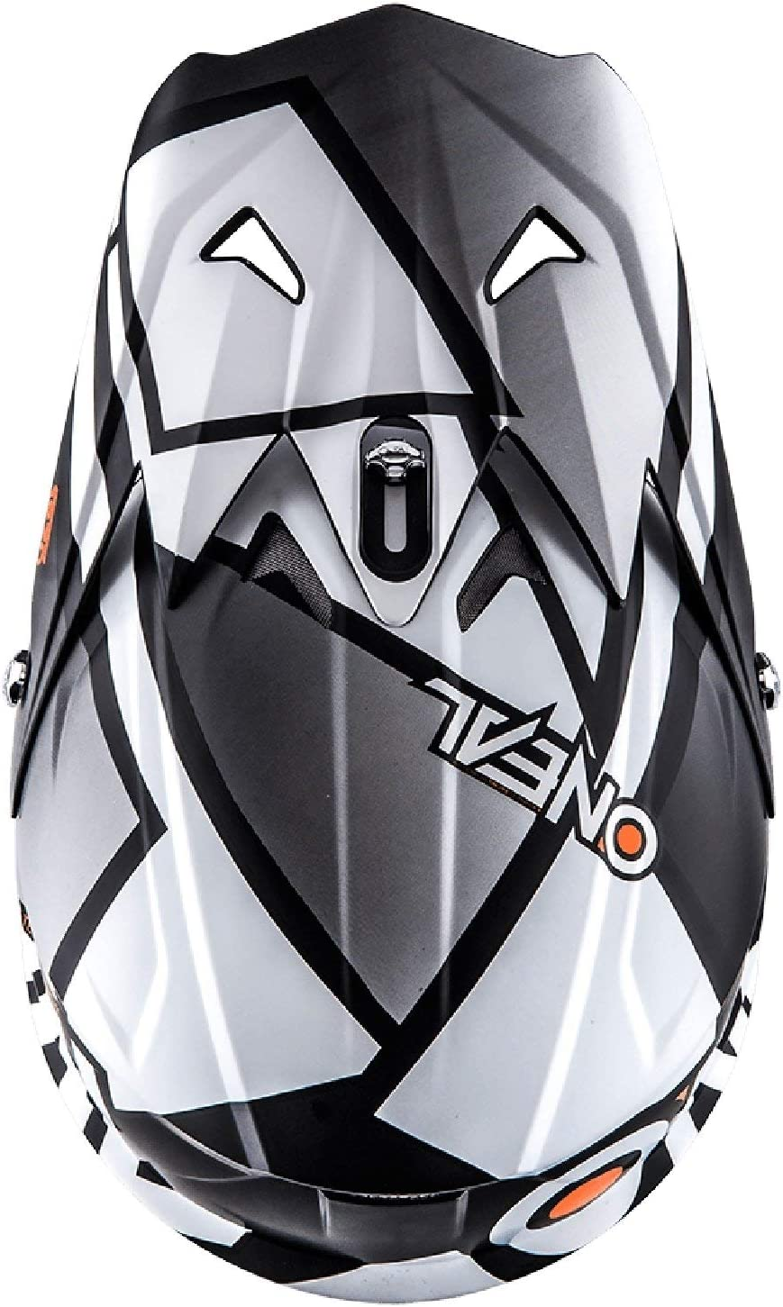 0623-63 ONeal 3Series MX Helm Radium Schwarz Wei/ß Motocross Enduro Quad Offroad Cross