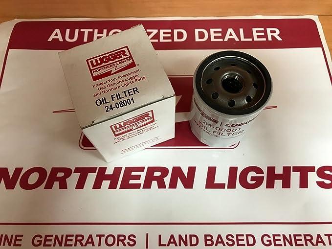Northern lights 24-08001 Oil Filter 140516250 M-NL643-673-673L