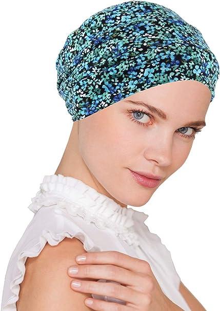 Amazon.com: Chemo - Gorro para mujer con estampado suave y ...